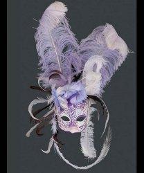 Maska wenecka - Colette