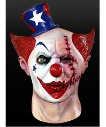 Maska lateksowa - Horror-Klaun IV