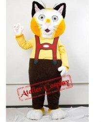 Strój chodzącej maskotki - Kot Bawarczyk