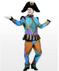Profesjonalny strój klauna - Pan Błazen