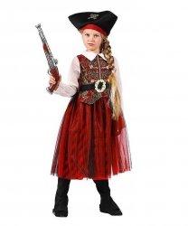 Strój teatralny dla dziecka - Królowa Piratów