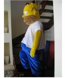 Strój reklamowy - Homer Simpson