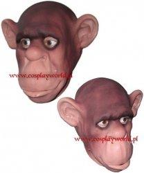 Maska lateksowa - Szympans