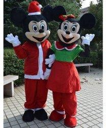 Chodzące maskotki - Bożonarodzeniowe Myszki