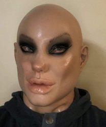 Maska lateksowa - Jolie