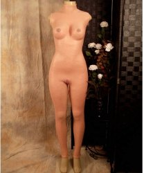 Kombinezon z silikonu - Female Full Body