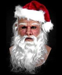 Maska silikonowa - Święty Mikołaj