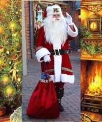 Profesjonalny strój Świętego Mikołaja - Św. Mikołaj Premium III