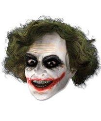 Maska lateksowa z włosami - Joker