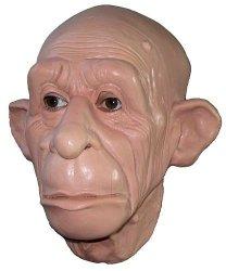 Maska lateksowa - Małpia twarz