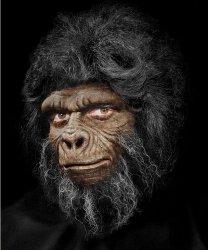 Maska klejona na twarzy - Goryl Deluxe