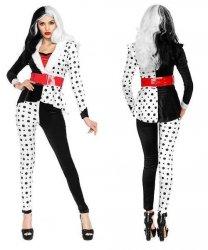 Kostium Karnawałowy - Cruella
