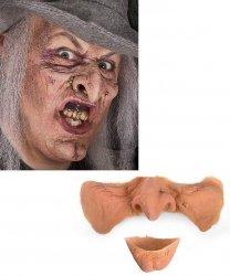 Efekty specjalne (FX) - Lateksowa maska klejona na twarz Wiedźma