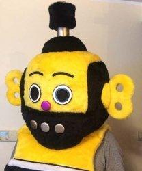 Głowa chodzącej maskotki - Robot