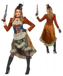 Kostium Steampunk - Saloon Girl