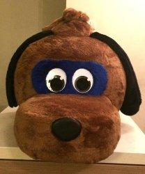 Głowa chodzącej maskotki - Pies