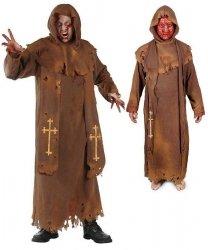 Kostium karnawałowy - Mnich Zombie