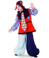 Profesjonalny strój klauna - Pierrot