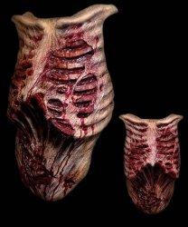Element kostiumu - The Walking Dead lateksowy tors Zombie