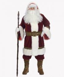 Profesjonalny kostium świąteczny - Święty Mikołaj Supreme