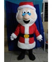 Chodząca maskotka - Święty Mikołaj