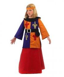 Strój teatralny dla dziecka - Joanna d'Arc