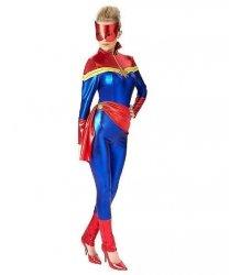 Kostium Karnawałowy - Kapitan Marvel