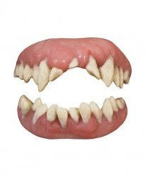 Sztuczne zęby - Potwór