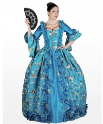 Kostium teatralny - Królowa Balu