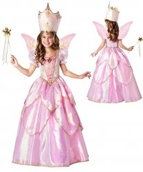 Kostium dla dziecka - Różana Wróżka