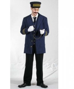 Kostium z filmu Ekspress Polarny - Konduktor