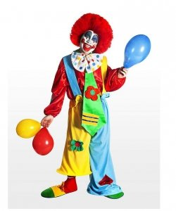 Profesjonalny strój klauna - Klaun Balonik