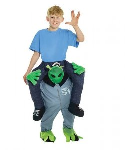 Kostium dla dziecka Carry Me - Alien