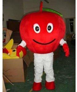 Strój reklamowy - Czerwone Jabłko