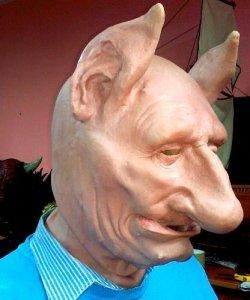 Maska lateksowa - Judo