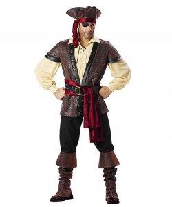 Kostium teatralny - Rustykalny Pirat