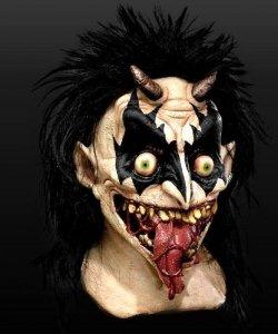 Maska lateksowa - Demon