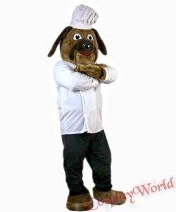 Chodząca żywa duża maskotka - Pies pomoc kuchenna