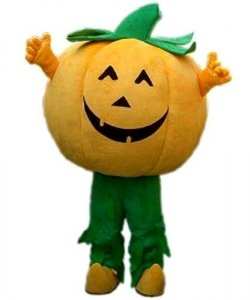 Strój reklamowy - Dynia Halloween