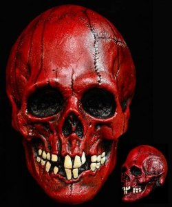 Maska lateksowa - Czacha