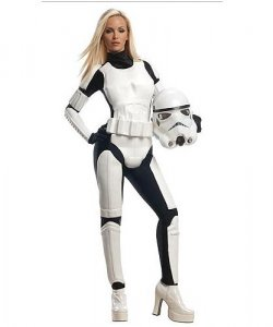 Kostium z filmu - Star Wars Stormtrooper Girl Deluxe
