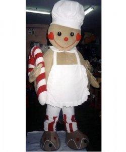 Chodząca maskotka - Świąteczny Pierniczek Kucharz