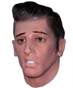 Maska lateksowa - Elvis