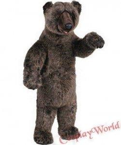 Chodząca żywa duża maskotka - Grizzly Bear