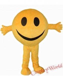 Chodząca żywa duża maskotka - Emotikon Smile