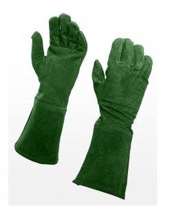 Rękawice - Zamsz Zieleń