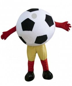 Strój chodzącej maskotki - Piłka Nożna
