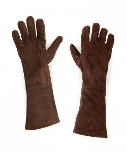 Rękawice - Zamsz Brąz