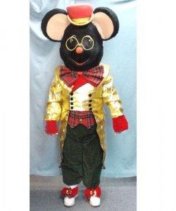 Chodząca maskotka - X-mas Mysz