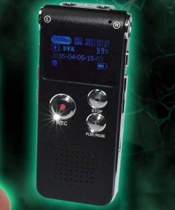 Ghost Hunters - Dyktafon cyfrowy EVP 8GB
